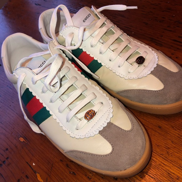 Gucci Shoes | Gucci G74 Leather Sneaker